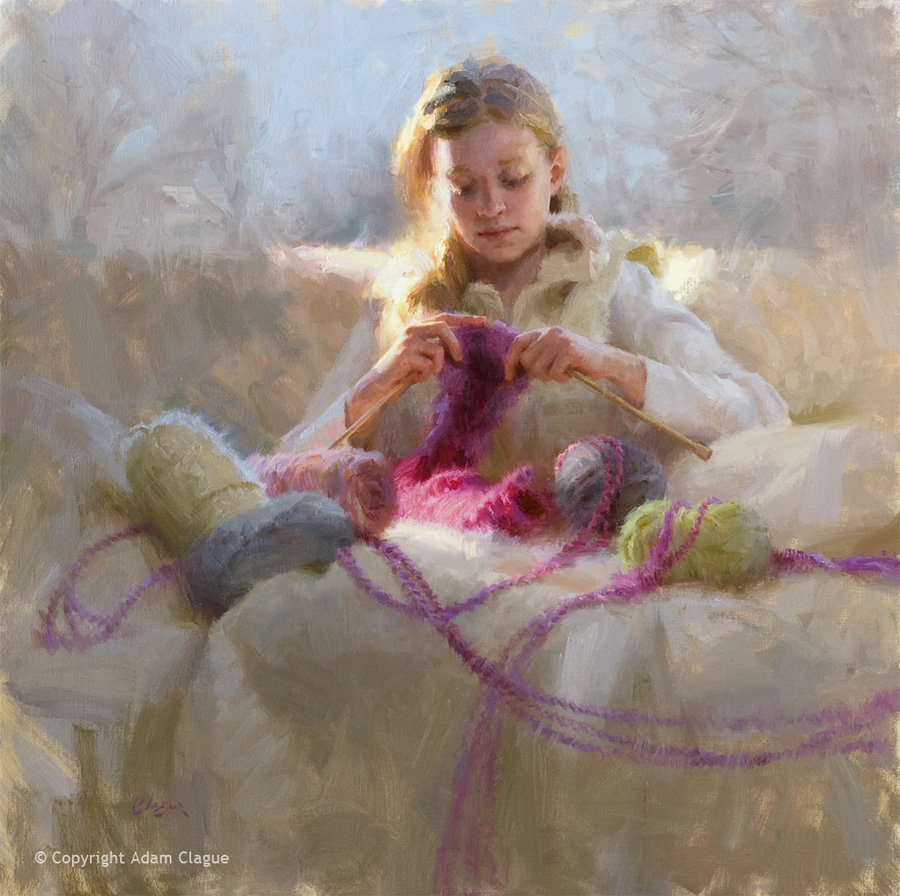 Knitter's Gift by Adam Clague